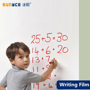 Whiteboard Self adhesive Writing Film Dry Wipe Message Board For Office School