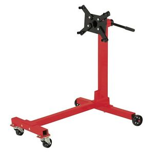 Automotive Pittsburgh Engine Motor Stand 1000 Lb Capacitiy Holder Rotary Stee