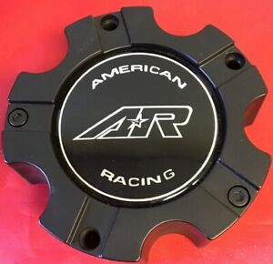 One Used American Racing Black Center Cap M 562 Wheel Center Cap 4431