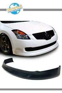 Global 8 Polyurethane Front Bumper Lip For 2007 2009 Nissan Altima 4d Mdp Style
