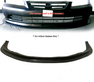 Global 8 Urethane Front Bumper Lip For 2001 2002 Honda Accord 4 door Mda Style