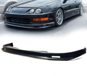 Global 8 Polyurethane Front Bumper Lip For 1998 2001 Acura Integra Mugen Style