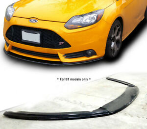 Global 8 Polyurethane Front Bumper Lip For 2013 2014 Ford Focus St Style