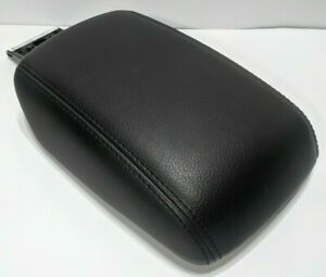 2012 2014 Ford Focus Center Console Lid Arm Rest Armrest Black Leather Cover Oem
