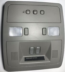 03 07 Cadillac Cts Overhead Console Homelink Maplight Sunroof Switch Oem
