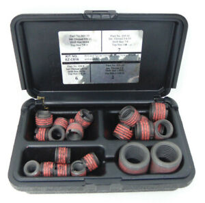 E z Lok Threaded Inserts For Metal Assorted Kit open Box Complete Ships Free