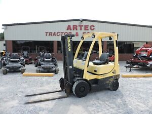 2007 Hyster H30ft Forklift 3k Capacity Watch Video Only 1456 Hours