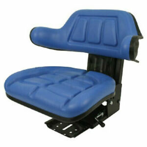 Blue Ford new Holland 4000 4100 4110 4600 Su 4610 Tractor Suspension Seat wd