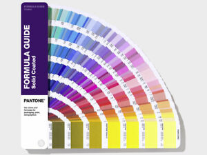 Pantone Formula Guide Solid Gloss Coated Shows 2161 Colours Latest 2019 Version