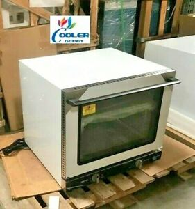 New Commercial Half Size 1 2 Electric Steam Convection Counter Top Oven Nsf