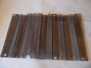 1977 Ford 1600 Diesel Farm Tractor Lower Grill Screen dented