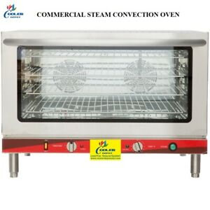 New Commercial Full Size Electric Steam Convection Counter Top Oven Nsf Fd 100