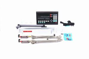 Lcd Digital Readout 2 Axis Dro Linear Scale Encoder For Milling Lathe Machine