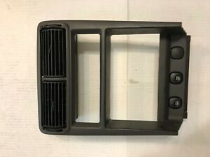 1994 2004 Mustang Radio Bezel Trim Double Din Vents Oem