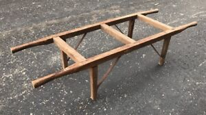 Beekeeping Beehive Mover Carrier Transport Antique Vintage Wood Two Person Honey