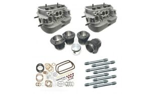 Vw Beetle 1600cc Engine Rebuild Kit 87mm Pistons With Big Valve Heads