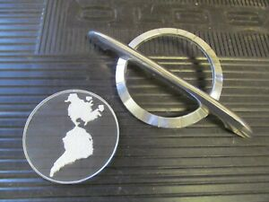 1954 Oldsmobile 88 Super 88 98 Used Hood Emblem Gm 565126 New Insert