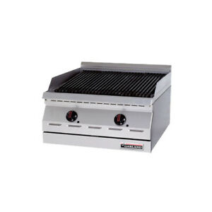 Garland Gd 18rb Designer Series Countertop Gas Charbroiler 18