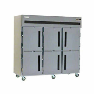 Delfield Gbf3p sh 66 5 Cu ft Commercial Reach in Freezer With 6 Solid Doors