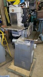 Delta 6x48 Belt And 12 Disc Sander 230 Volts Three Phase Made N Usa Will Ship