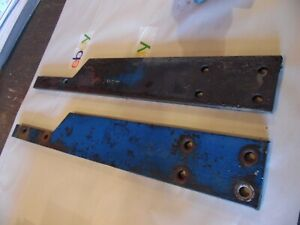 1977 Ford 1600 Diesel Farm Tractor Frame Rail Plates very Nice