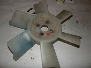 1977 Ford 1600 Diesel Farm Tractor Fan Blade chipped Ends