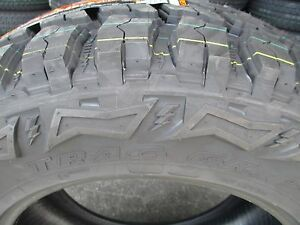 4 New 35x12 50r17 Inch Thunderer Mud M t Tires 35125017 35 1250 17 12 50 R17 Mt