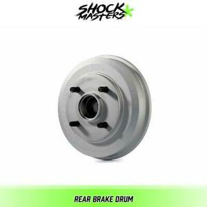 Rear Brake Drum For 2000 2008 Ford Focus Wheel Bearing Includes