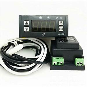 Sf 102 Electronic Temperature Controller Digital Display Freezer Thermostat 110v