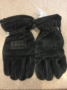 American Firewear Firefighter Gloves Bunker Turn Out Gear Guc Size Medium