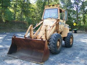 1986 Case W14h Wheel Loader