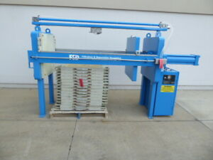 Filtration Separation Dynamics 8 Cu Air Over Hydraulic Filter Press fp2366