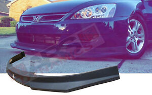 Hc1 Carbon Print Style Front Lip For 2006 2007 Honda Accord Coupe Nonv6