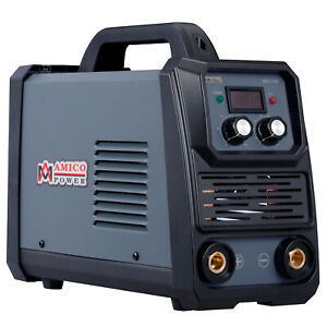 Amico 160 Amp Stick Arc Dc Welder 100 250v Wide Voltage Welding 80 Duty Cycle