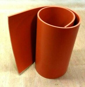 Silicone Rubber Solid Sheet 1 4 Thk X 12 W X 36 L Us Commercial 60 Duro