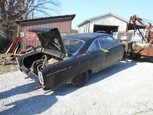 1966 Ford Fairlane 500 Dash Pocket Glove Box Door Project Parts 66