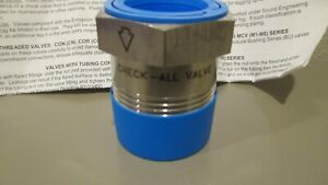 Check all Stainless Steel Bushing Check Valve 1x1 4 Npt Bussvt 500ss