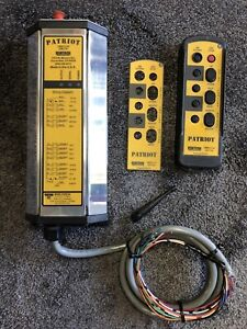 Remtron Patriot Overhead Crane Remote Reciever With Transmitter Laird Catron