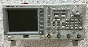Tektronix Afg3022 25 Mhz Arbitrary Waveform Function Generator Tested Excellent
