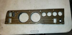 1970 Dodge Charger Coronet Gtx Woodgrain Rallye Dash Bezel Plate 70 B Body Back