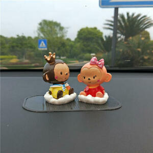 New Fashion Car Decoration Cute Monkey Dolls Interior Accessories Us Sell