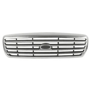 Front Grille Chrome For Ford Crown Victoria 1998 2011 Fo1200346