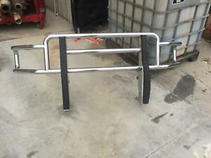 2003 Dodge 3500 After Market Front Bumper Sport Package Chrome Push Bar
