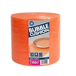 3 16 In X 12 In X 100 Ft Bubble Cushion Wrap Wrapping Void Fill Protection