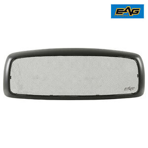 Eag Stainless Steel Mesh Main Upper Grille Fit 02 05 Dodge Ram 1500 2500