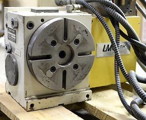 4th Axis Indexer Rotary Table With Controller Mmk Matsumoto Corp 8 200mm