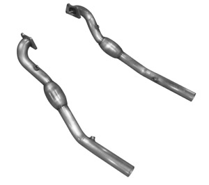 American Racing Headers 2 1 2 Catted Down Pipes For 2012 2015 Camaro V6