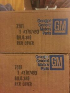 Chevy Small Block Gm Vintage Nos Finned Valve Covers Last Set