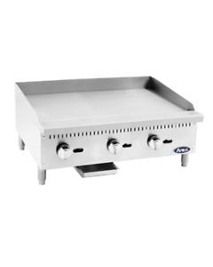 Atosa Hd 36 in Flat Griddle W 3 4 Plate Ng lp Atmg 36