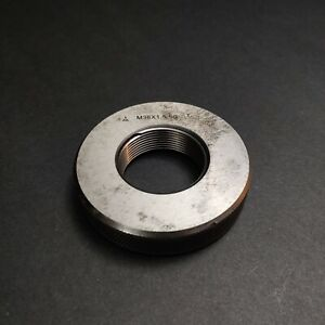 M36 X 1 5 6g Thread Ring Gage Machinist Tools Metrology M36